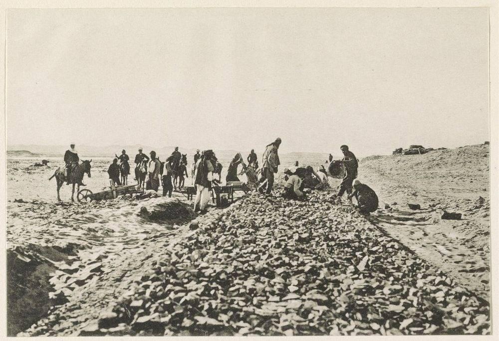 Construcción del ferrocarril del Hiyaz