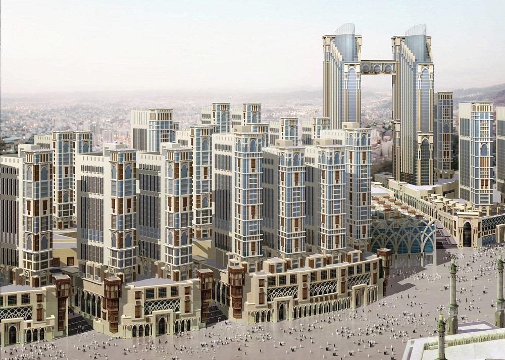 Jabal Omar - Mega hoteles de La Meca
