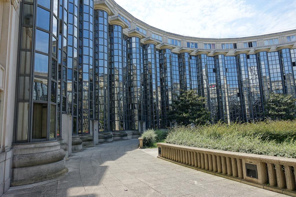 Jardin des Colonnes @ Place de Séoul @ Paris
