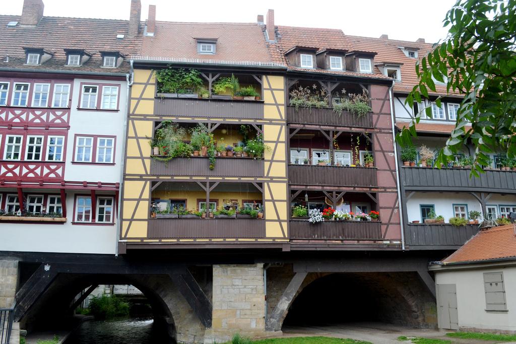 Krämerbrücke: El puente con tiendas de Erfut