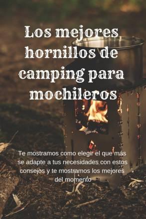 Hornillos de camping para mochileros