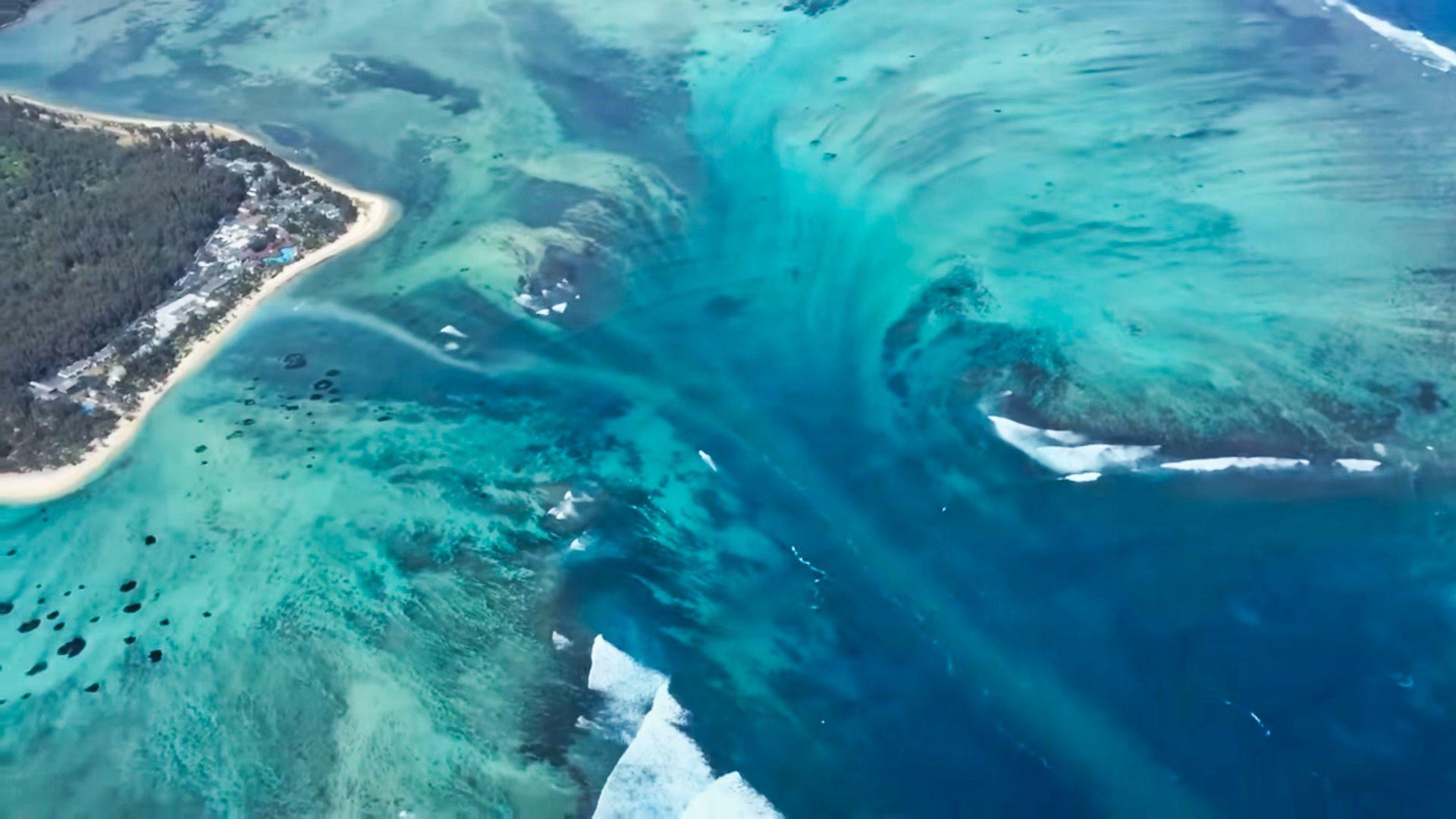 Las cataratas más grandes del mundo están bajo el agua