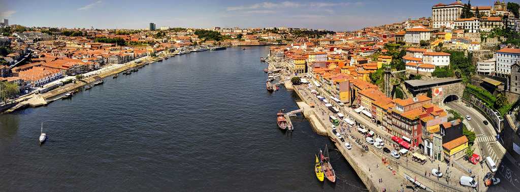 View from Dom Luís I Bridge, Porto