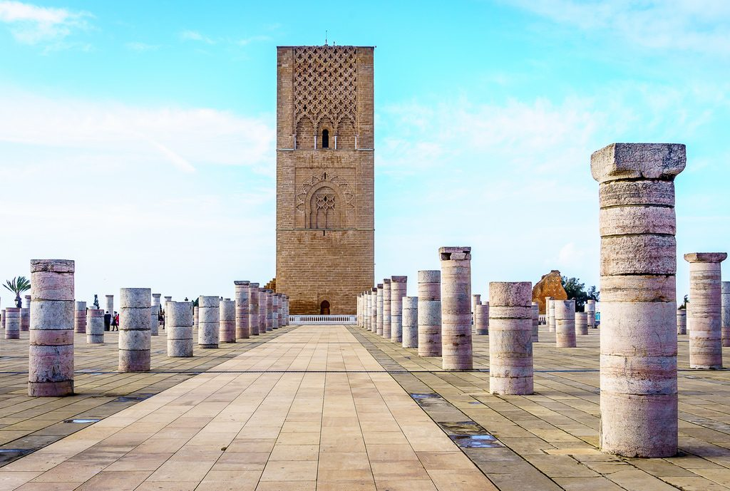 Torre Hassan, Marruecos