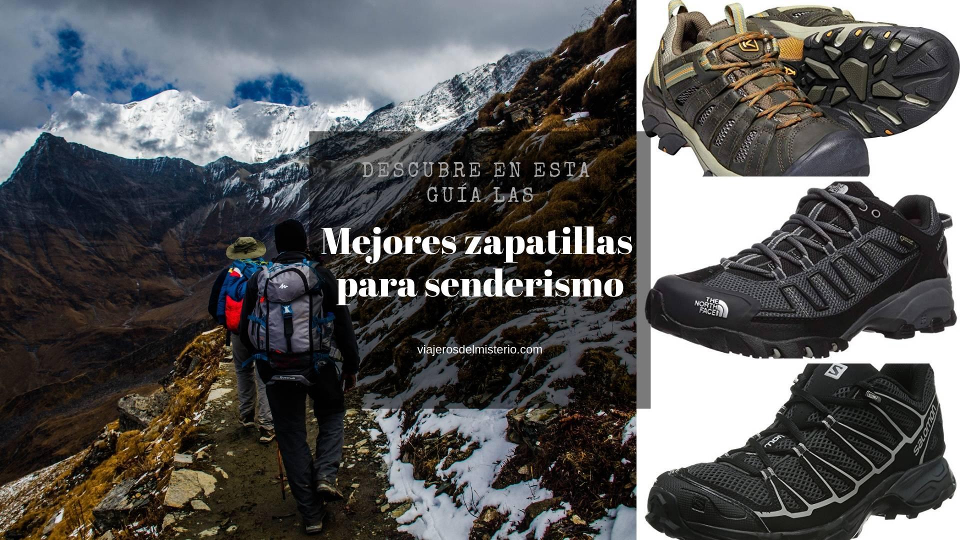 Las mejores zapatillas para senderismo