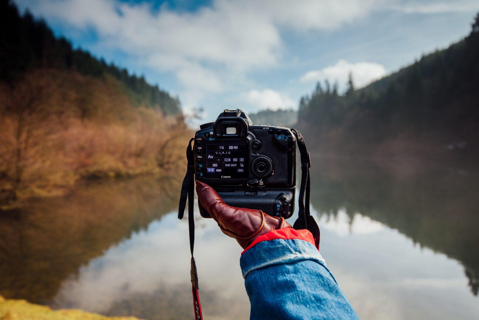 Mejores cámaras fotográficas para paisaje