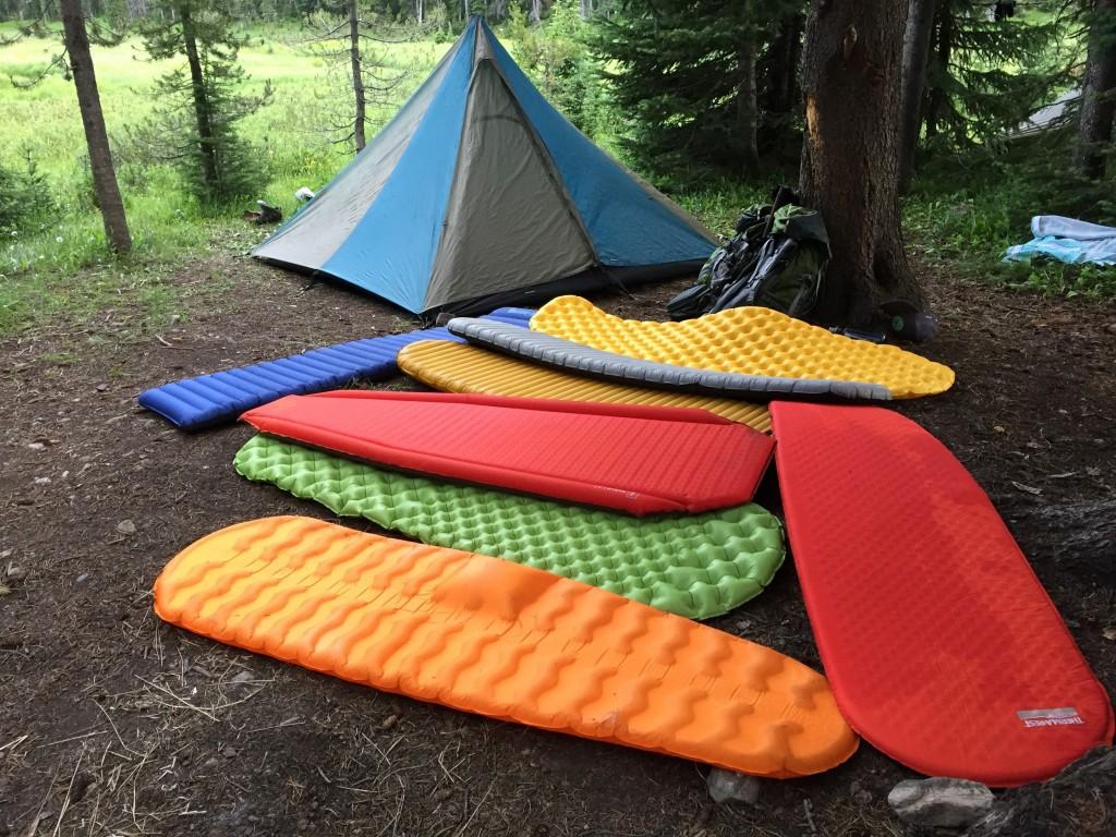 Mejores esterillas para dormir para excursionistas