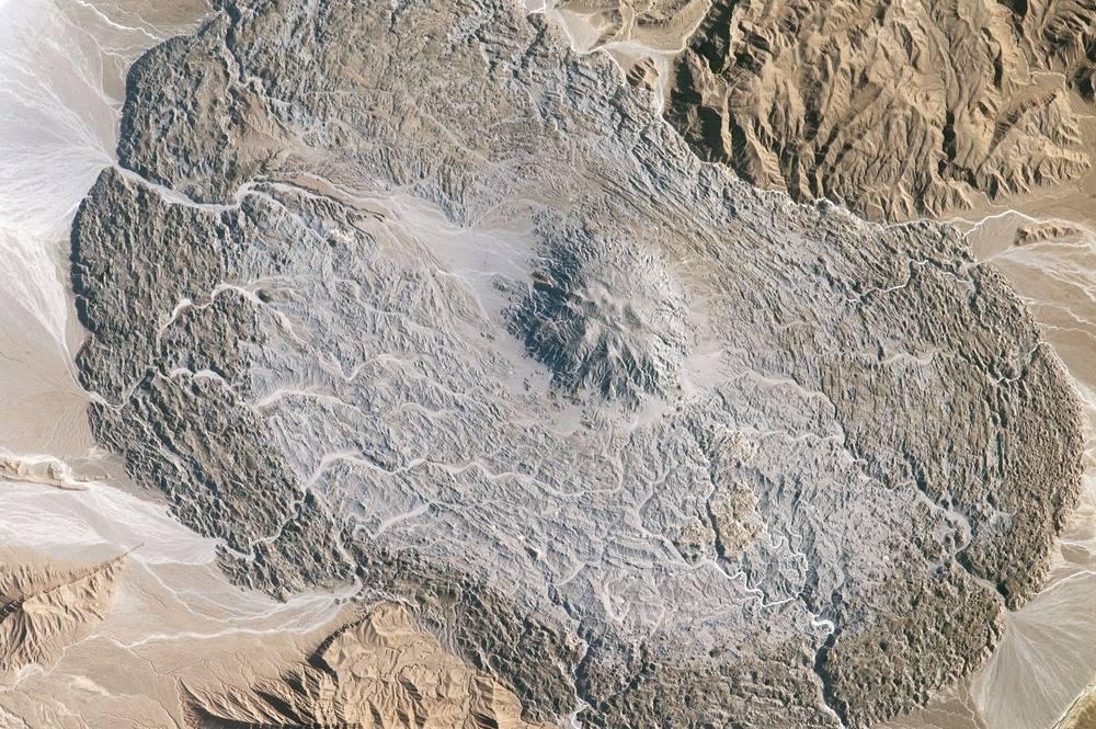 Las cúpulas y glaciares de sal de Irán