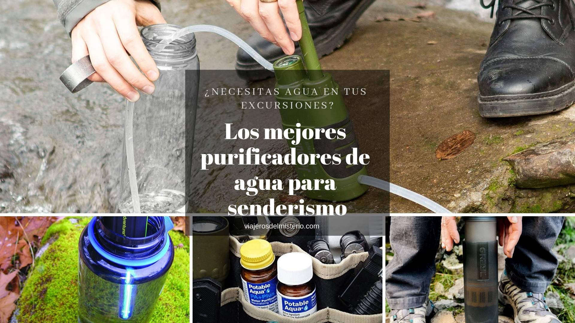 Los mejores purificadores de agua para senderismo
