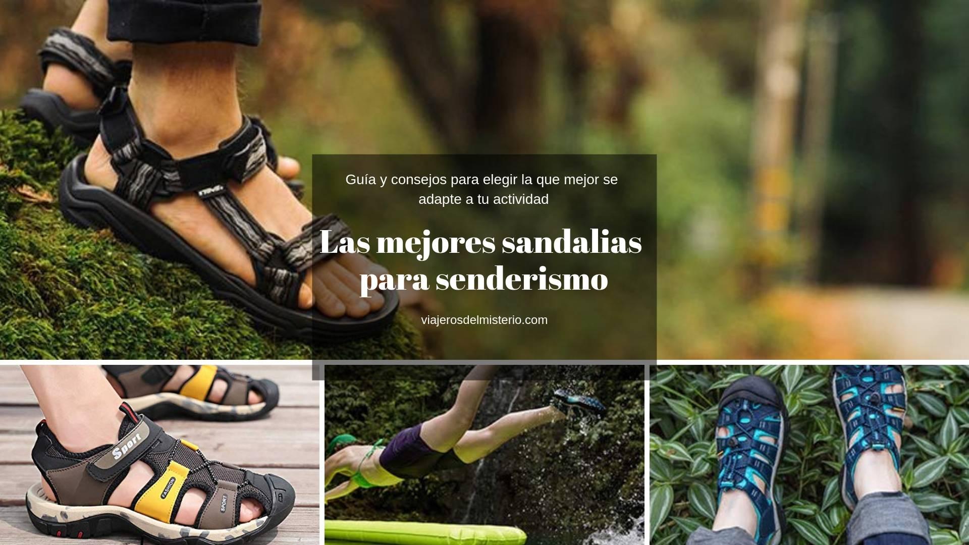 Las mejores sandalias para senderismo