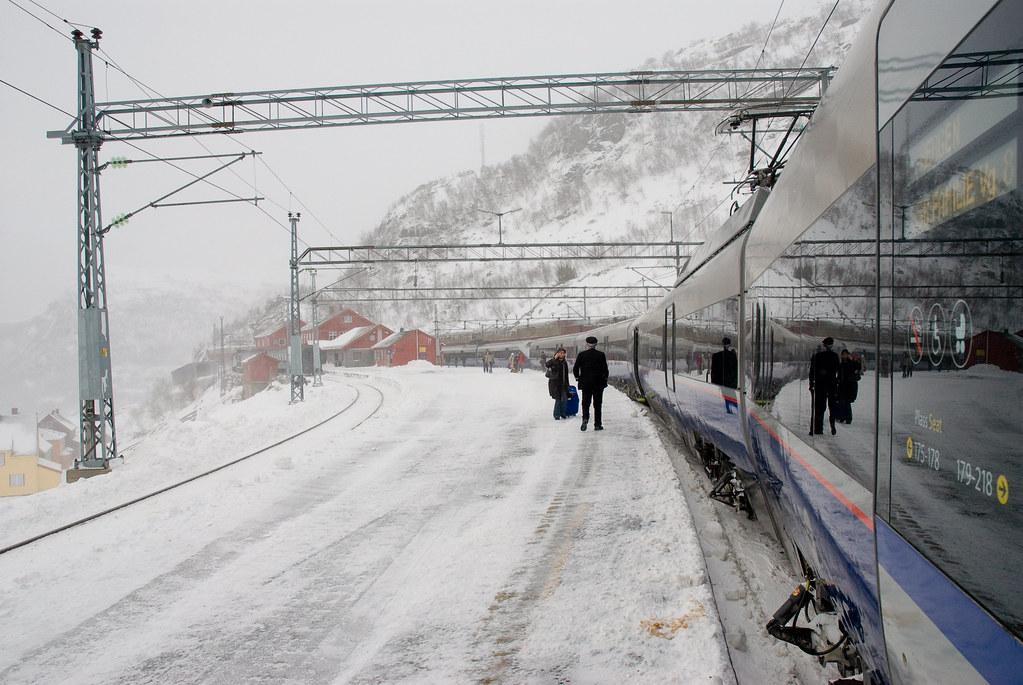 Bergensbanen, Noruega