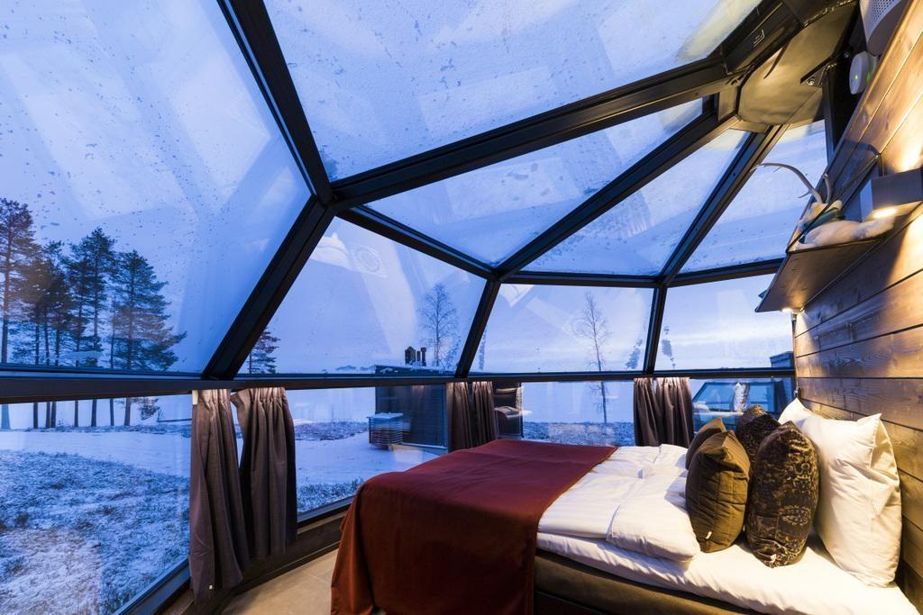 Hotel de cristal Finlandia
