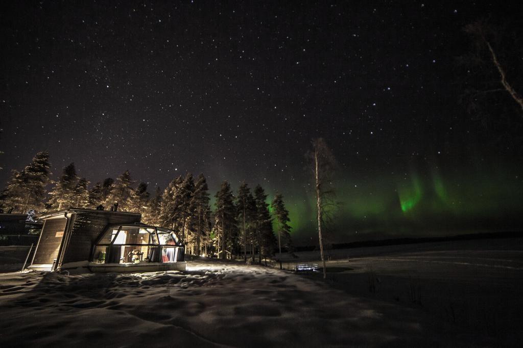 Hoteles de cristal en el ártico