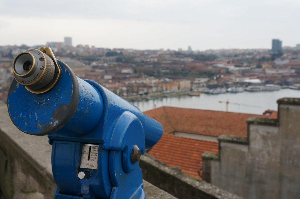 Miradores en Oporto, Portugal