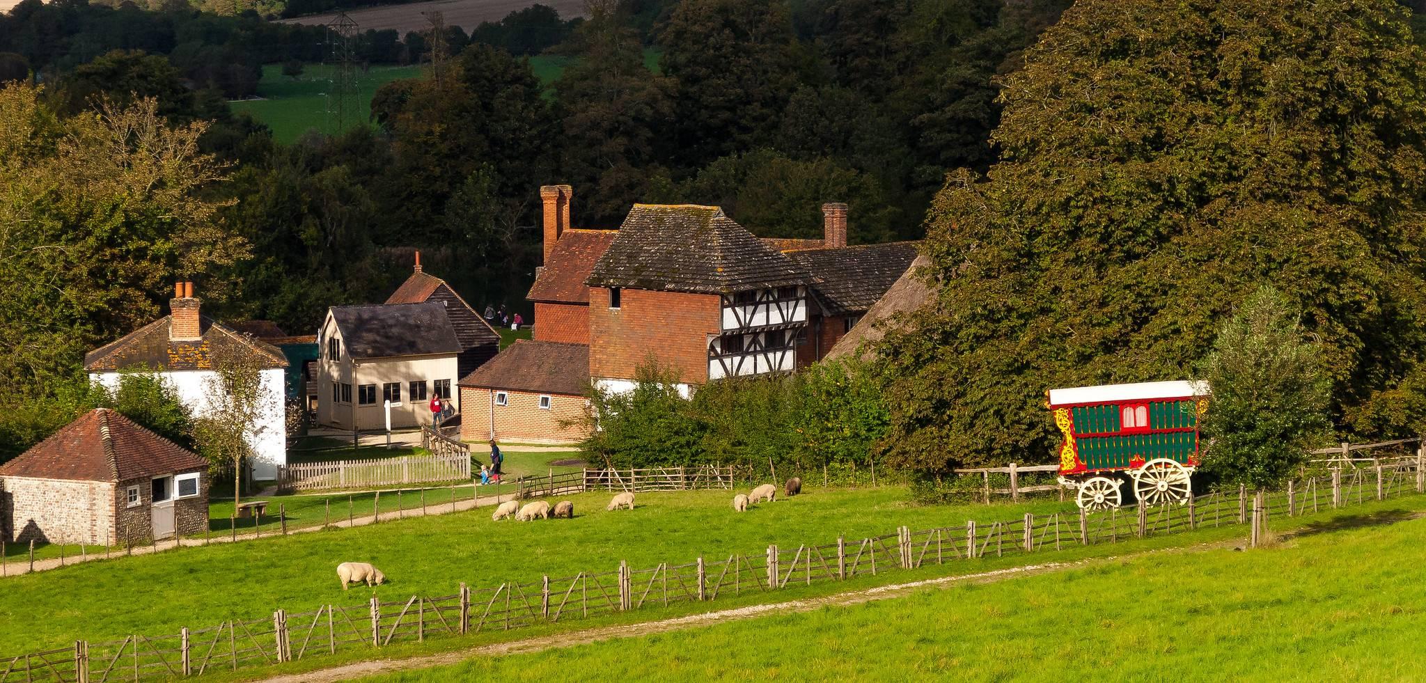 Weald and Downland Living Museum: Museo que colecciona casas