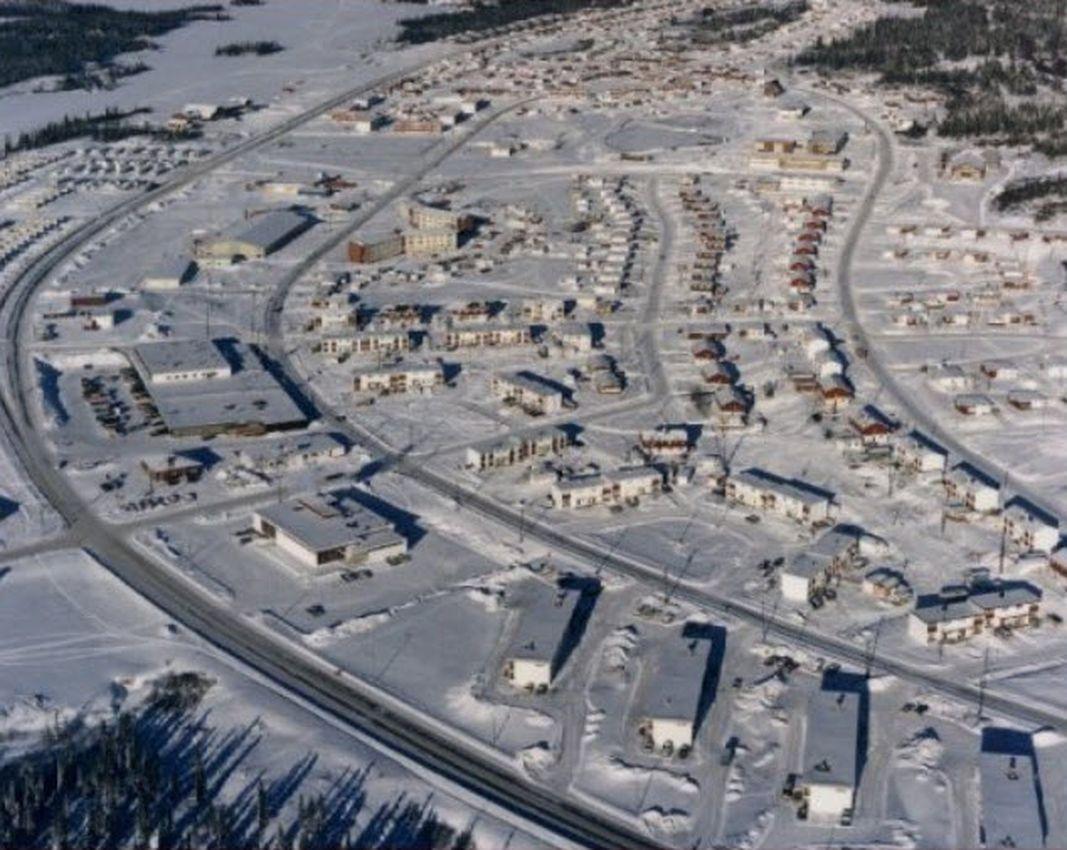 El pueblo fantasma de Gagnon, Quebec