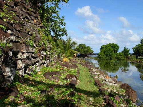 Las ruinas de Nan Madol