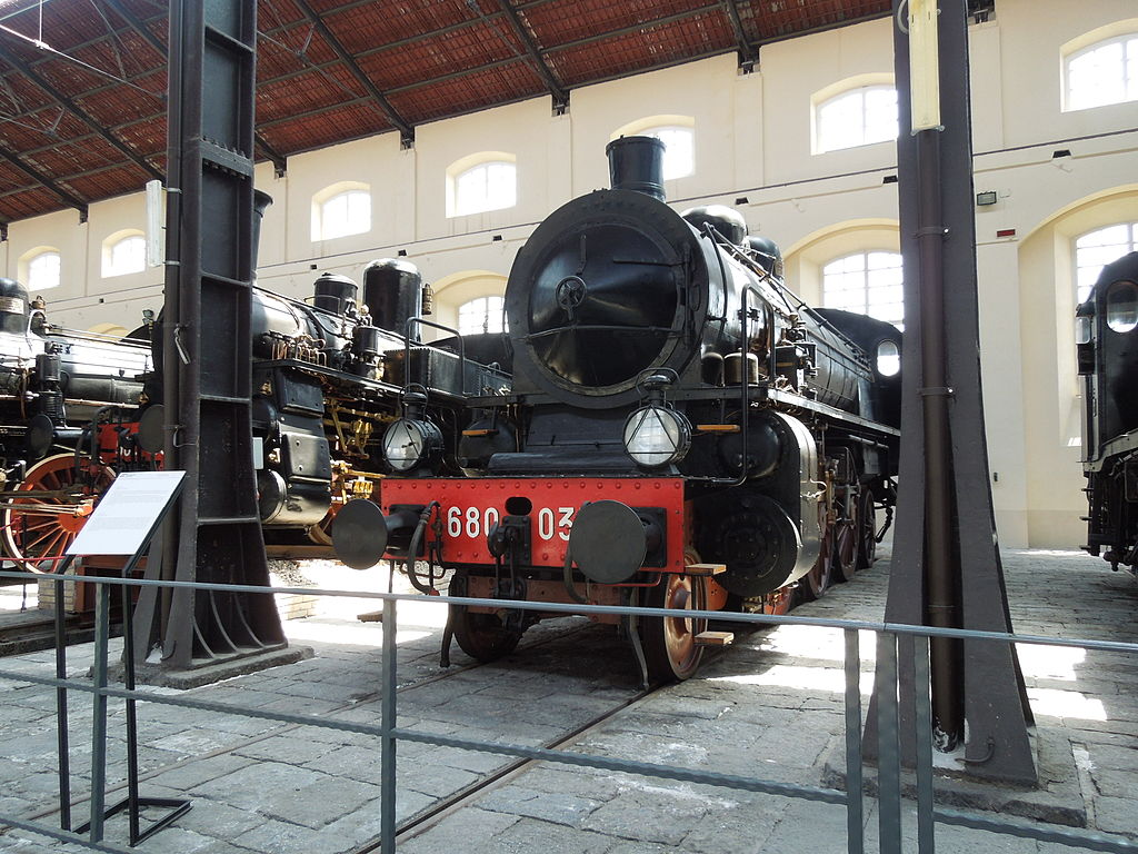 Museo Nacional del Ferrocarril de Pietrarsa, Italia 3