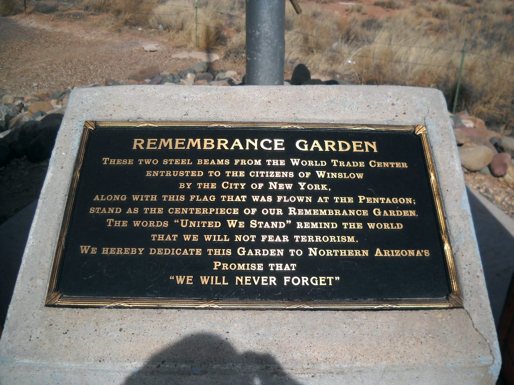9-11 Remembrance Garden