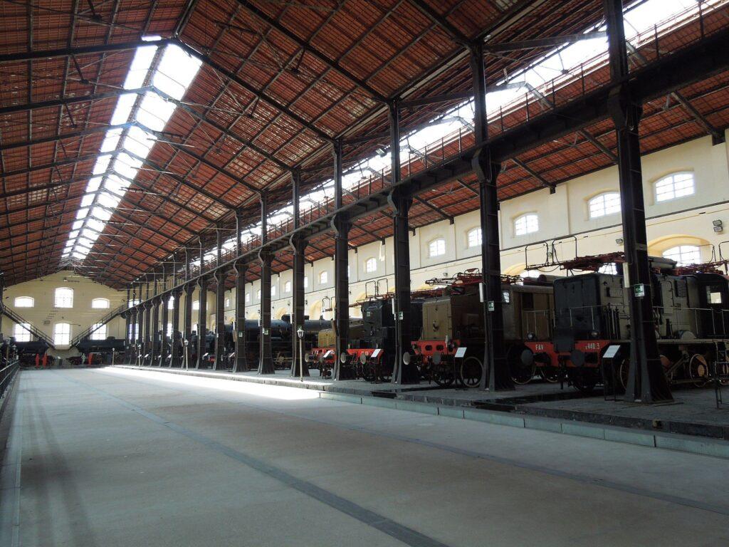 Museo Nacional del Ferrocarril de Pietrarsa, Italia