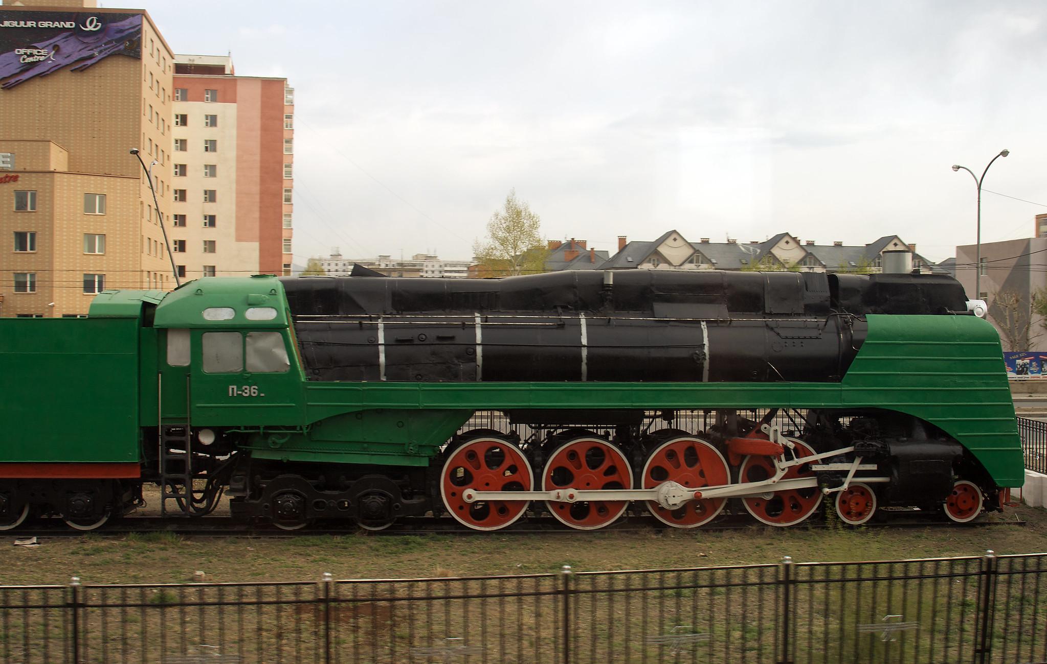 Museo de Historia del Ferrocarril de Mongolia en Ulán Bator