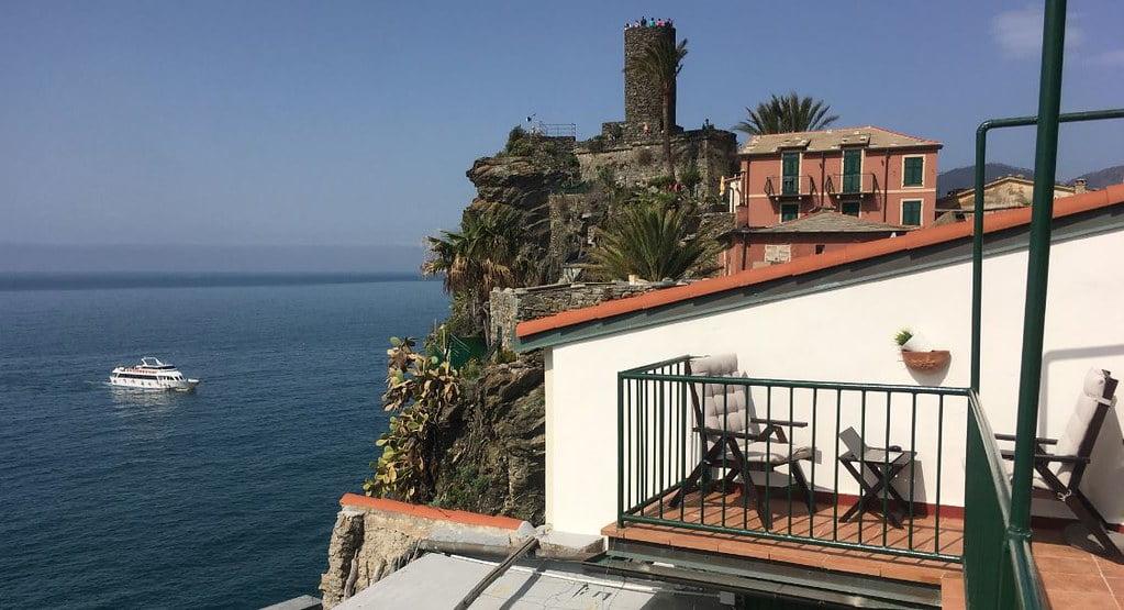 Castillo de Doria, Vernazza, Italia