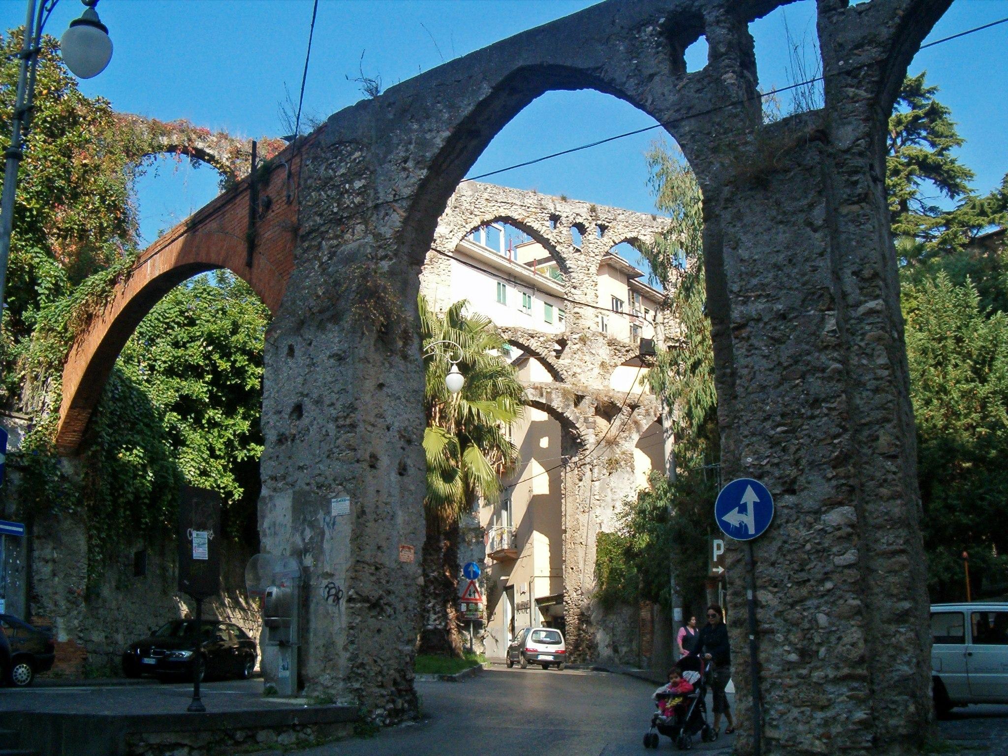 Acueducto medieval de Salerno, Italia 1
