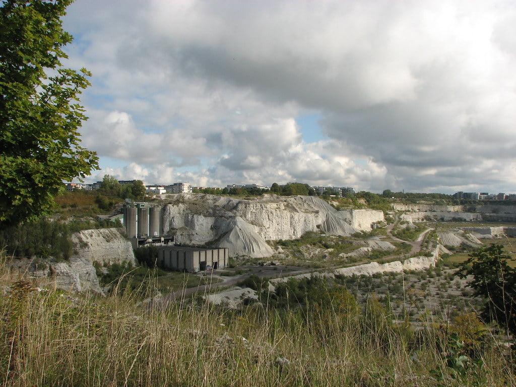 Cantera de piedra caliza de Limhamn, Suecia