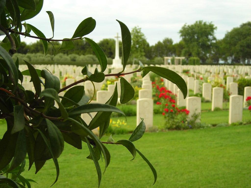 Cementerio militar canadiense de Ortona, Italia