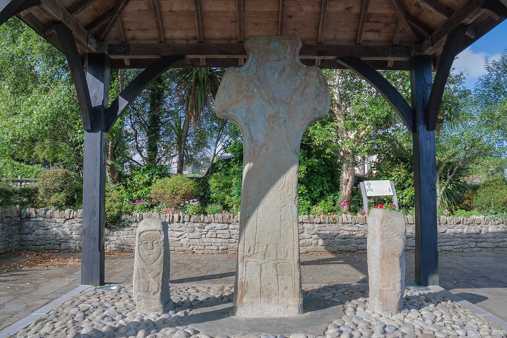 Cruz Alta de San Patricio, Carndonagh, Irlanda