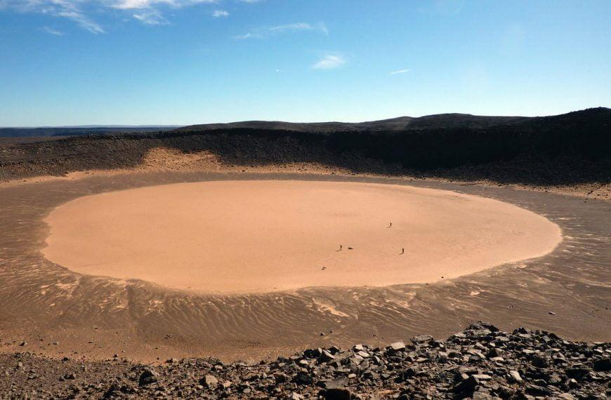 Cráter Amguid, In Amguel, Argelia