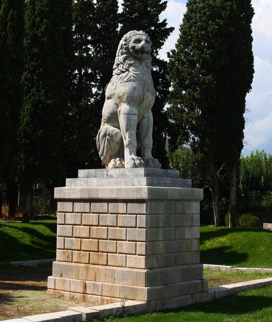 El león de Queronea, Grecia 2