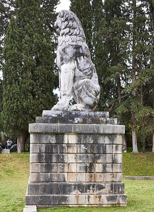 El león de Queronea, Grecia 3