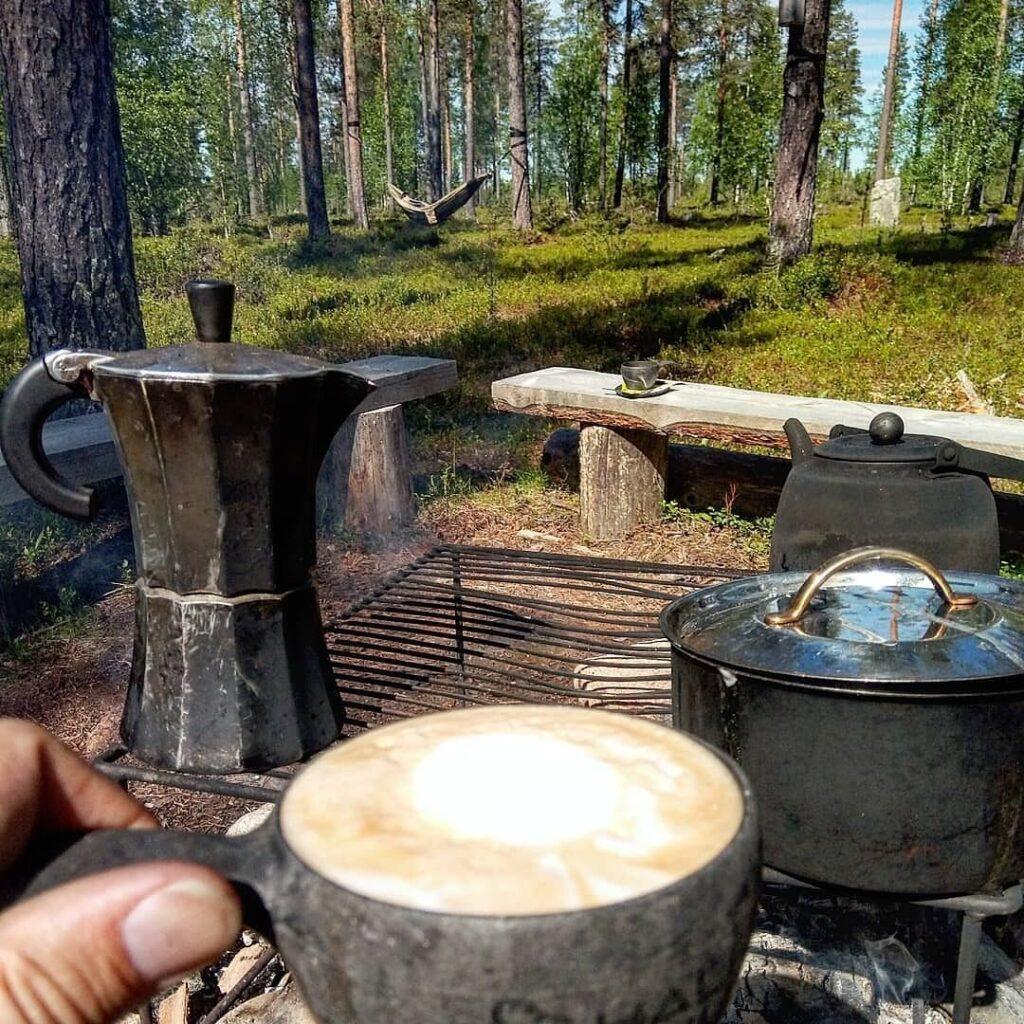 Campfire Barista en HaliPuu, Sirkka, Finlandia 7